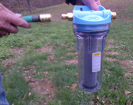 Water filter kit for Garden water filter system