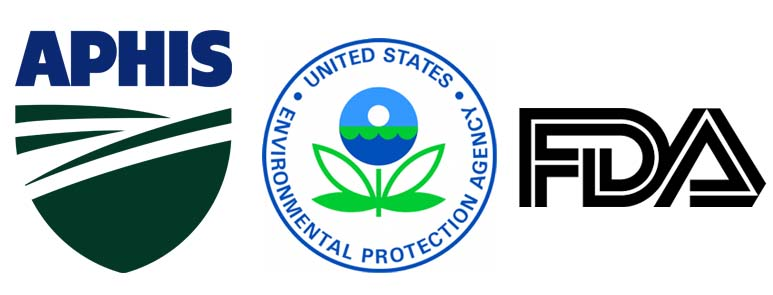 FDA EPA APHIS Logos